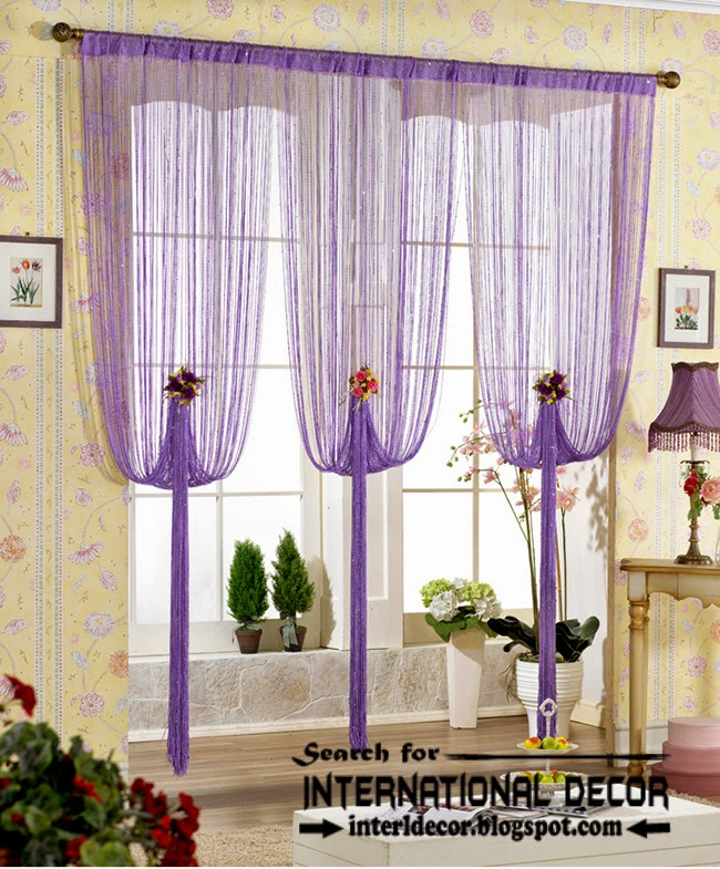 Largest catalog of lilac purple curtains and drapes for Unique drapes and curtains