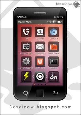 Desain vektor smartphone realistis or realistic smartphone vector design di inkscape