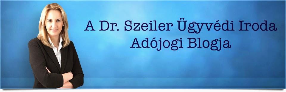 Dr. Szeiler Ügyvédi Iroda Adójogi Blogja