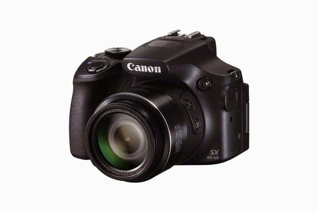 Canon SX60 HS Depan