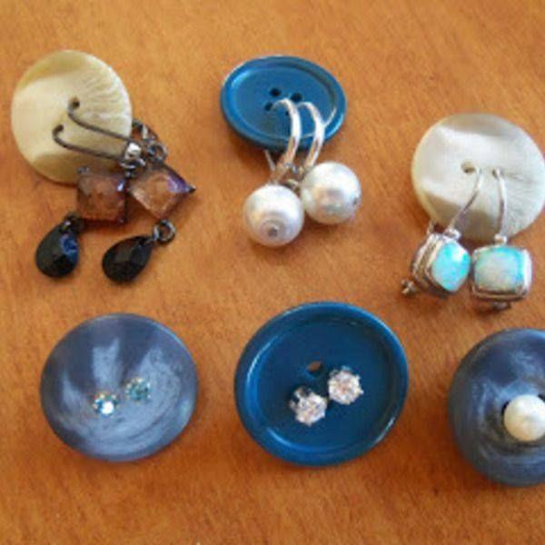 Organizando brincos de maneira fácil