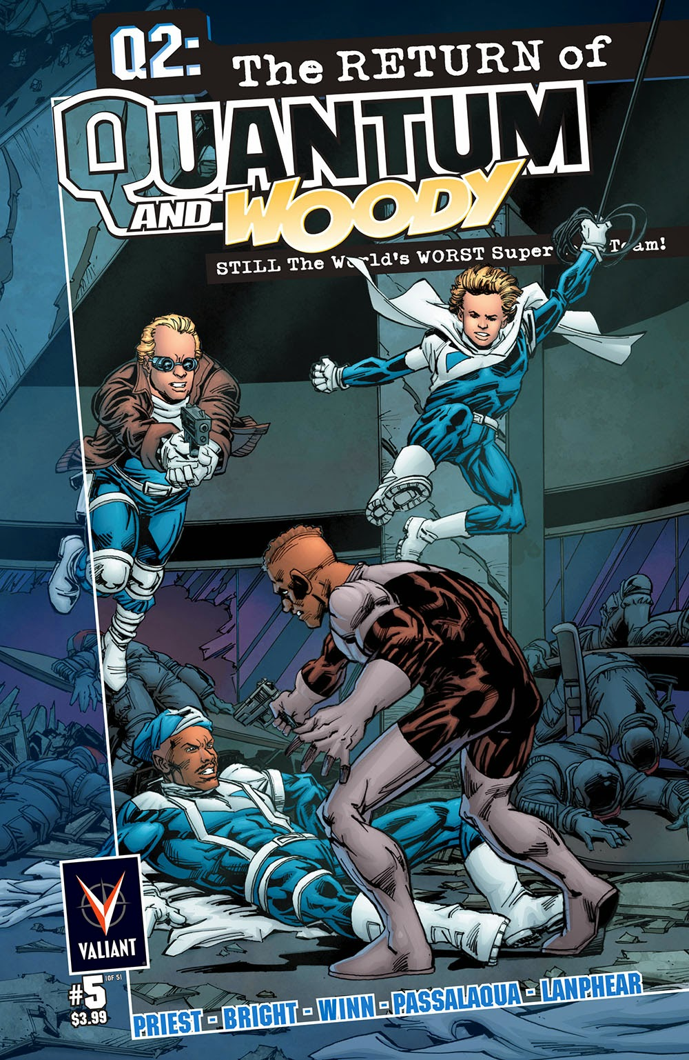 Q2 – The Return of Quantum and Woody