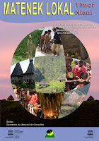 Image of cover of book entitled Matenek Lokal, Timor Nian!&#8221; (Traditional Knowledge of Timor!