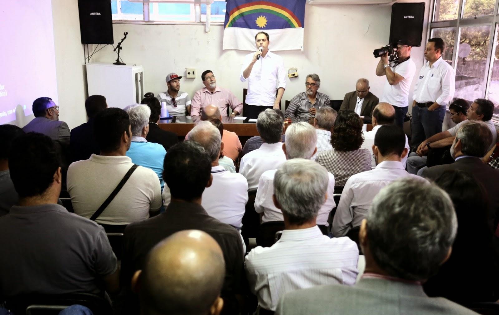 Dezesseis federações estaduais de esporte amador declaram voto em Paulo Câmara