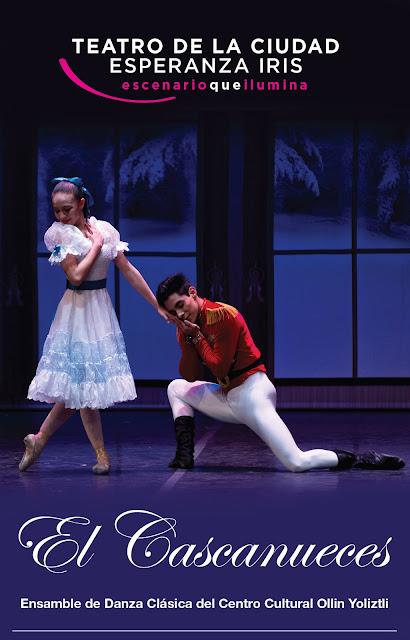 Ensamble de Danza Clásica del CC Ollin Yoliztli interpretará al Cascanueces en el Esperanza Iris