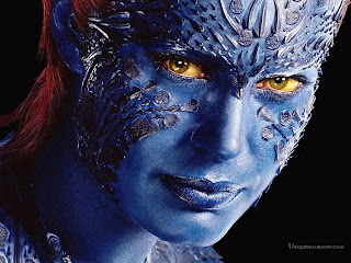 X-Men Mystique Face HD Wallpaper