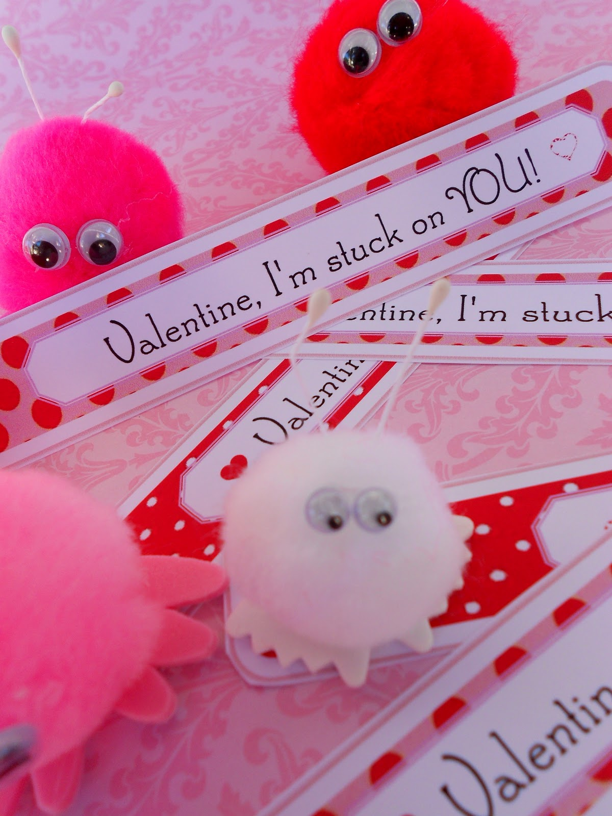 Valentine love bug craft - This Year We Found Our Critters At Michael S Crafts In A Bag Of 18 For Just 2 99
