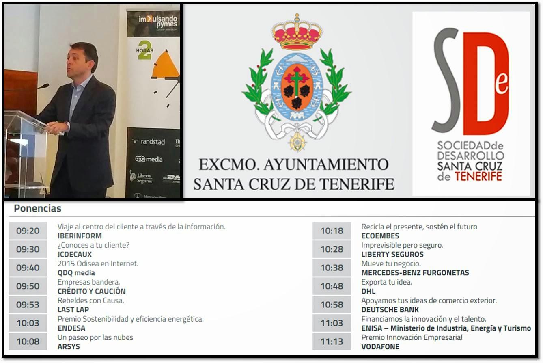 Alcalde de Tenerife en Impulsando Pymes