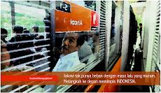Jokowi tak punya beban masa lalu
