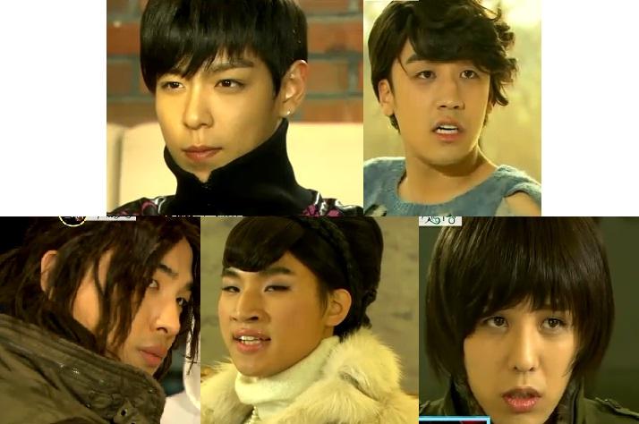 Bang show big bang revealed them doing a parody of the drama secret