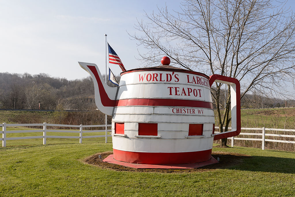 World's Largest Teapot, Chester, WV