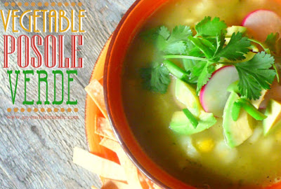 Vegetable Posole Verde