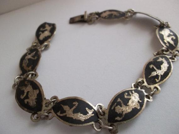 Siam Silver Bracelet Vintage4