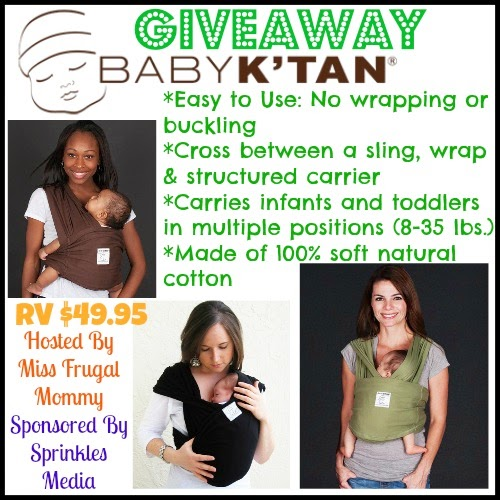 Baby K'Tan Carrier Giveaway