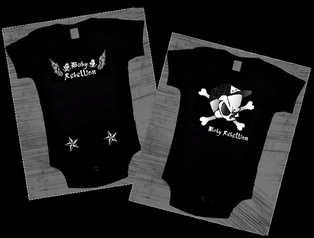 Cool Punk Rock Baby Onesies and Toddler Tees at Baby Rebellion