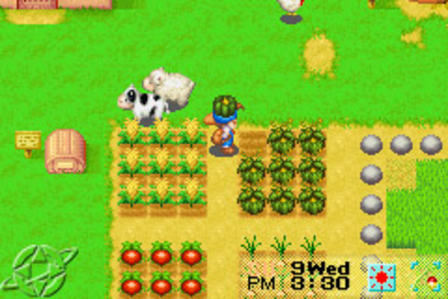 harvest moon gba emulator