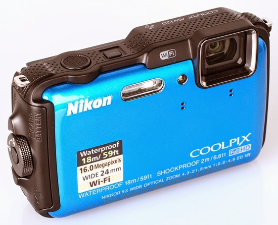 Harga dan Spesifikasi Kamera Nikon Coolpix AW120 terbaru