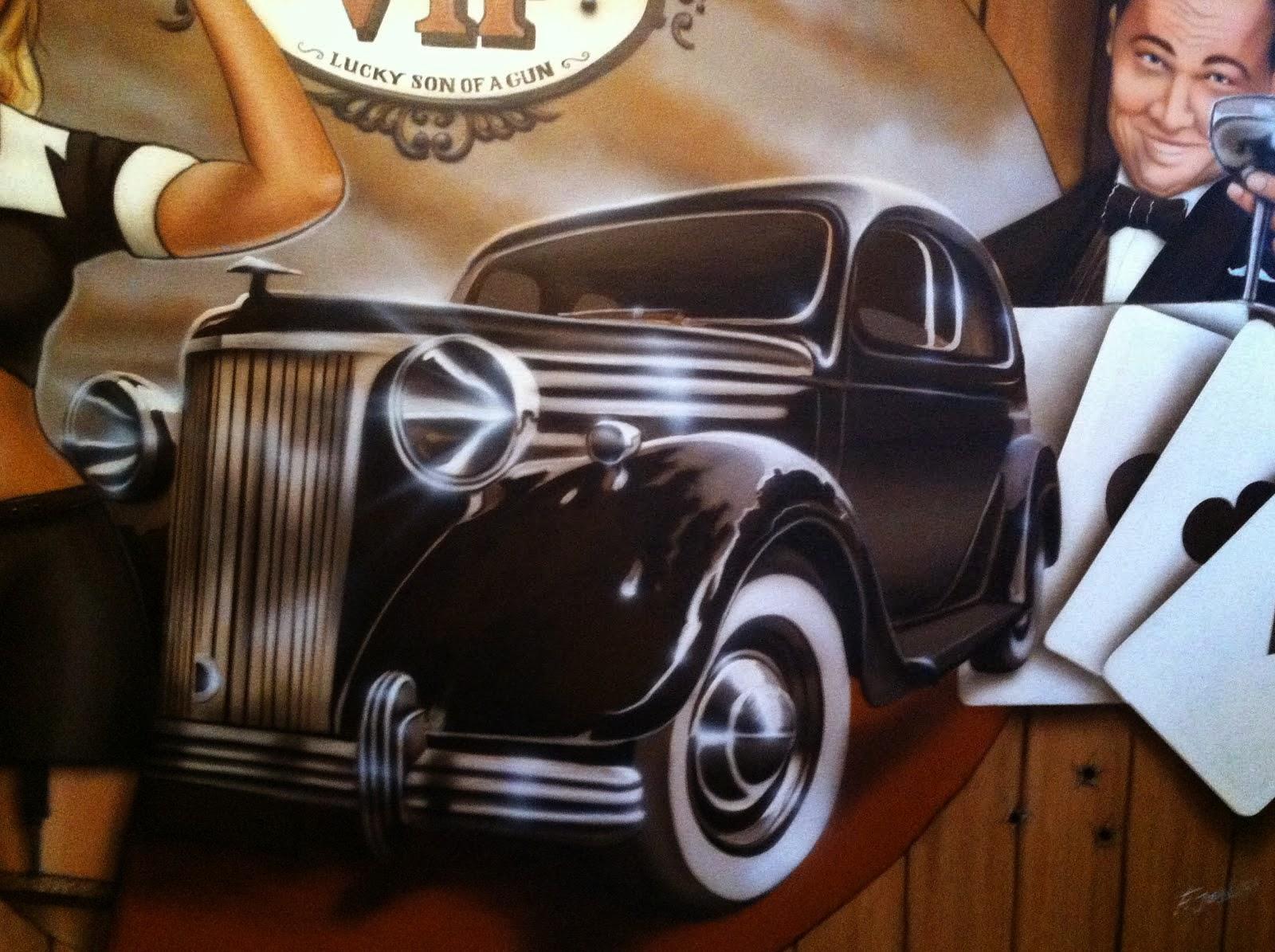 murale de style grand thief auto 5