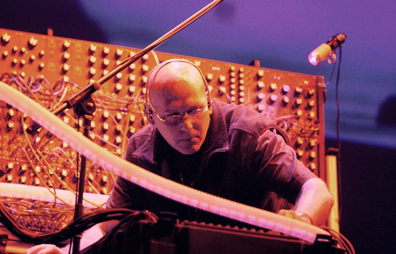 Robert Rich live au Nearfest 2007 / photo : Brian Tirpack