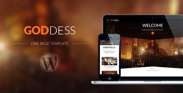 Goddess – Multi Purpose & One Page WordPress Theme