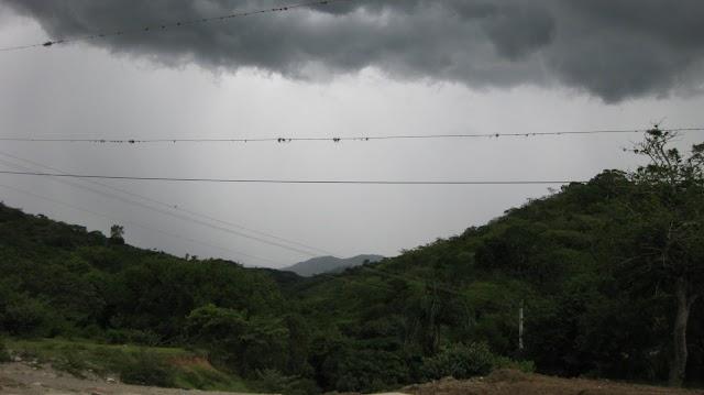 Hoy habrá posibles lluvias por vaguada