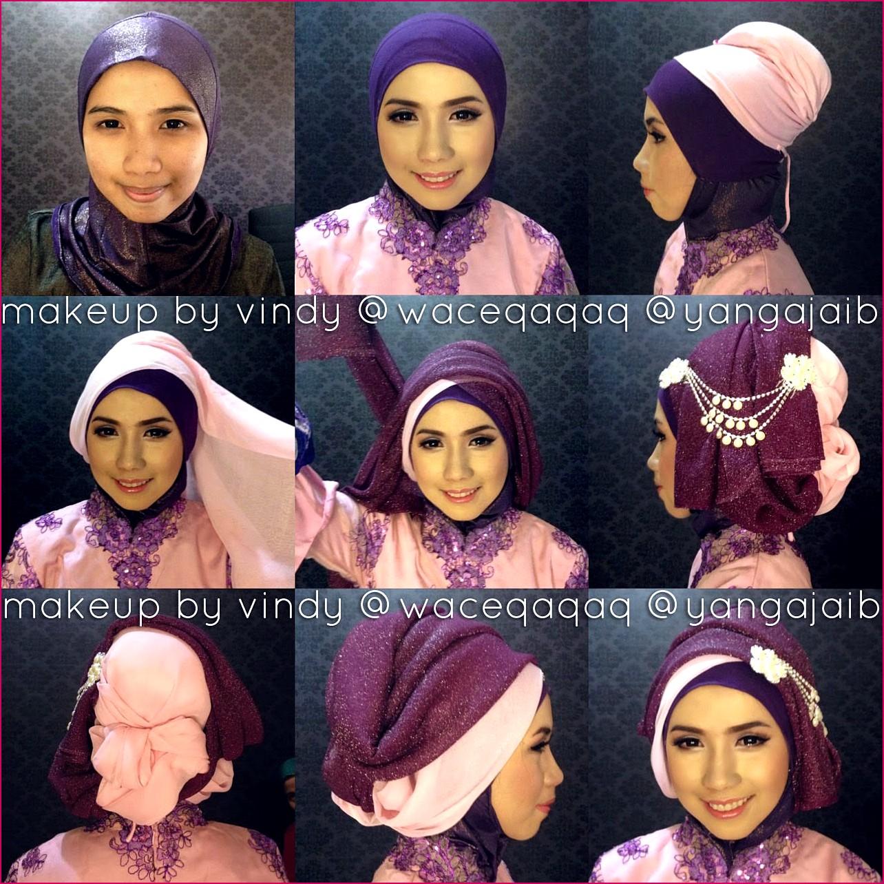 Tutorial Hijab Untuk Kebaya Wisuda Tutorial Hijab Dan Cara Berhijab