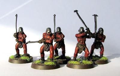 malowanie uruk hai berserkers
