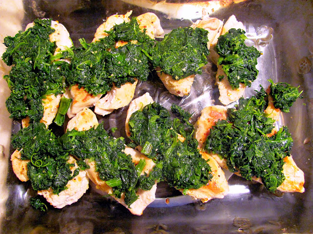 ... Anne Murphy: Grilled Chicken with Spinach and Melted Mozzarella