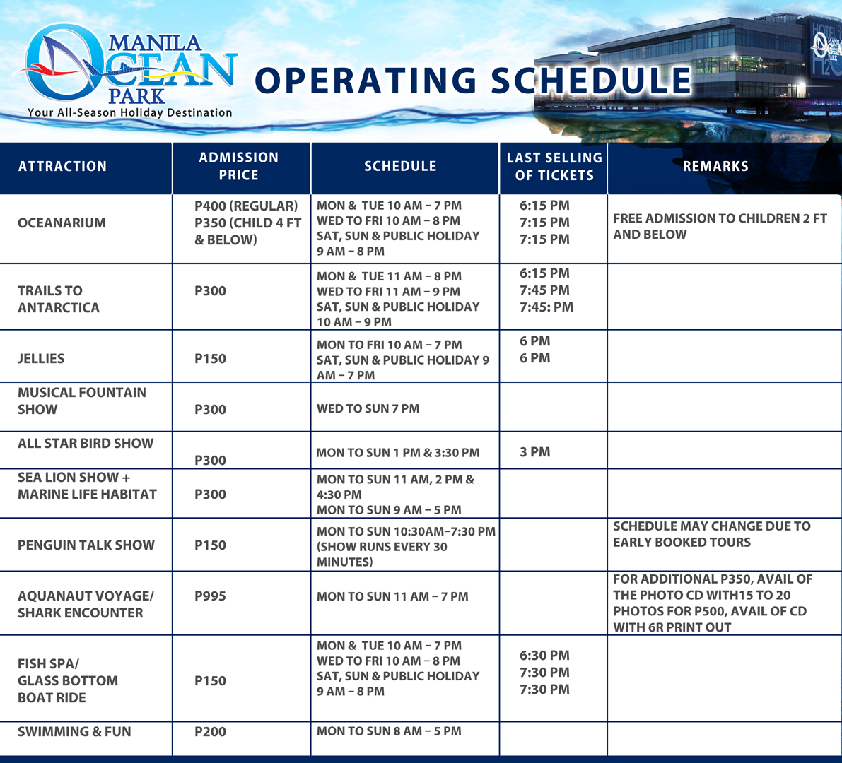 Manila Ocean Park Entrance Fee http://pinoy99.blogspot.com/2013/01/manila-ocean-park-updated-entrance-fee.html