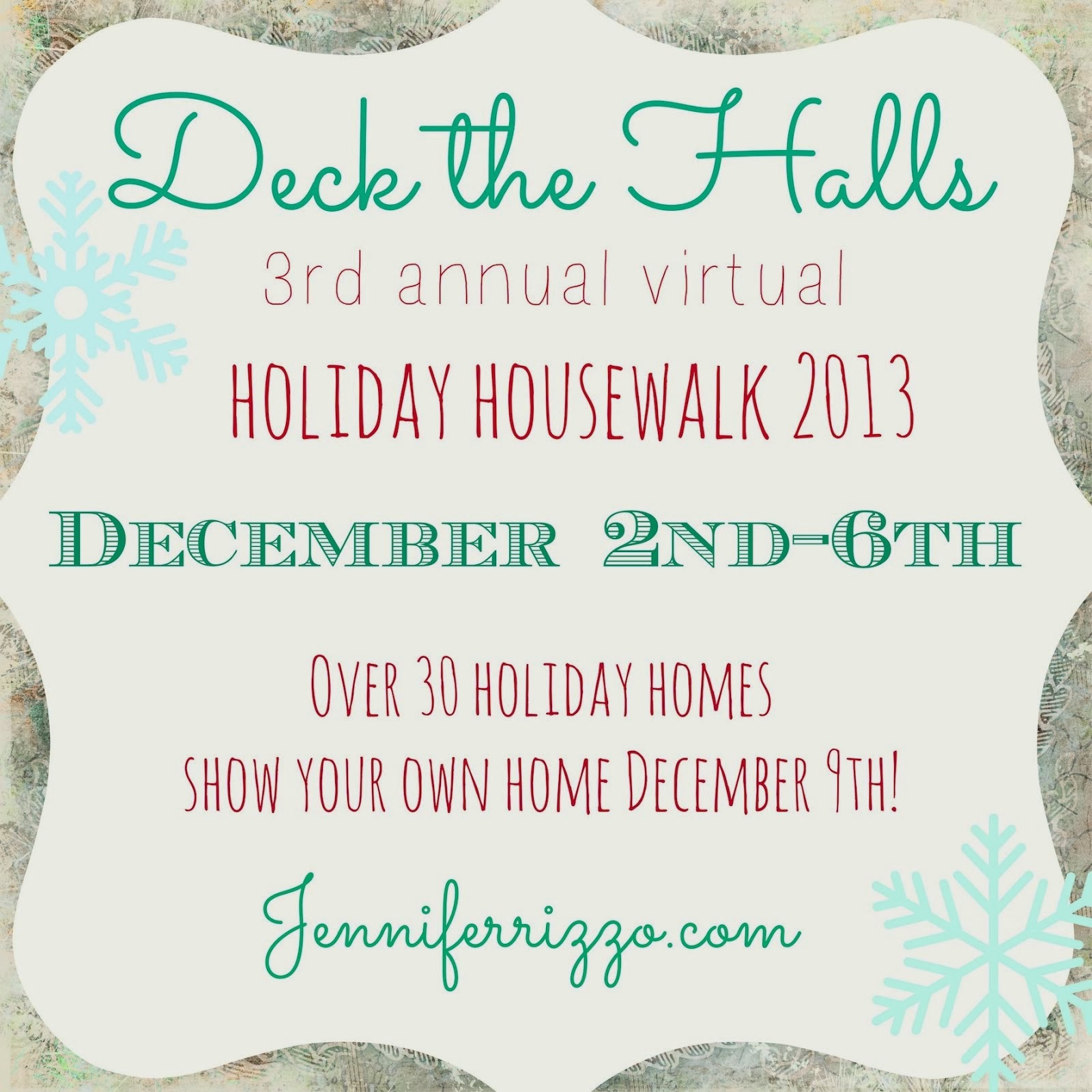 Jennifer Rizzo's Holiday House Walk - 2013