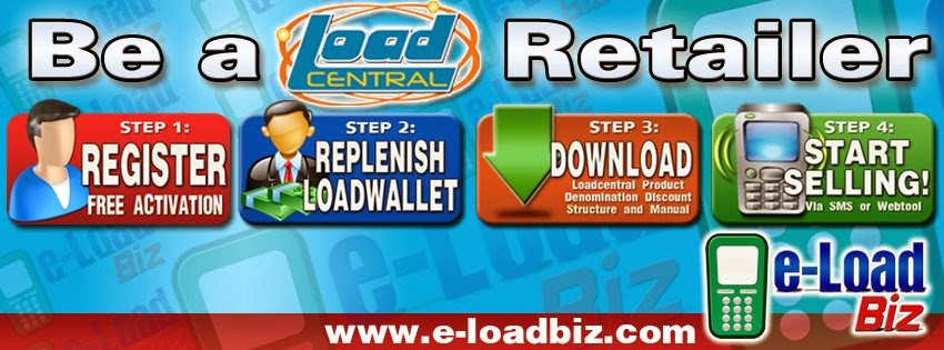 LoadCentral e-Loading Business Free Retailer Activation