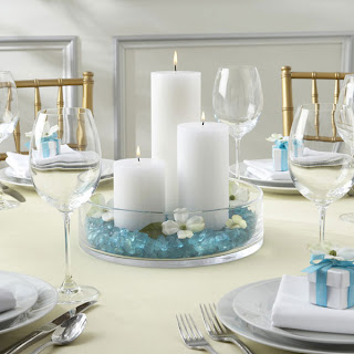 One Lovely Simple Wedding Table Decoration Ideas