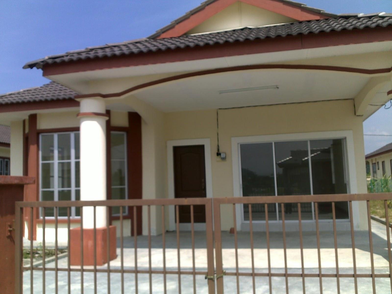 Rumah Banglo Satu Tingkat Di Batu Gajah, Perak