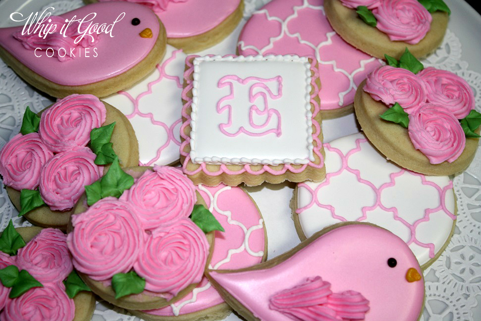 baby girl shower cookies images pictures becuo