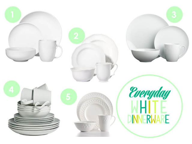 Everyday White Dinnerware