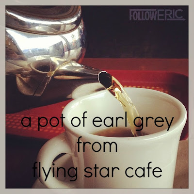 a pot of earl grey from flying star cafe