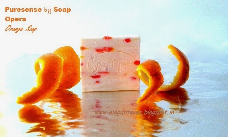 Puresense by Soap Opera Orange soap