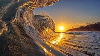 Puesta de sol Surf