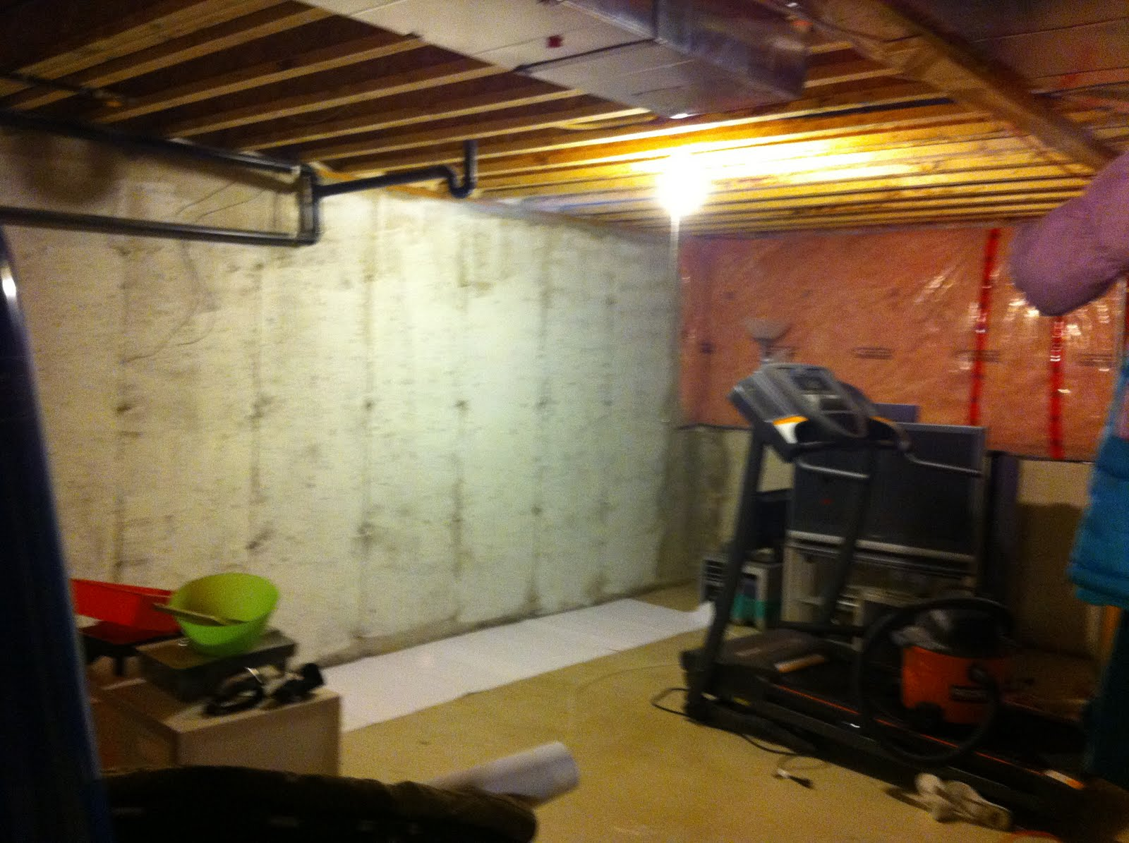 Painting Concrete Basement Walls Ideas Interior Unfinished Basement Wallssmart Ideas To Insulate Basement Wall .