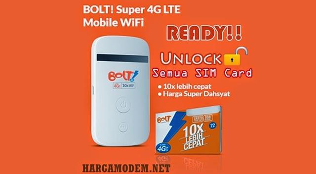 Daftar Harga Modem BOLT 4G LTE Terbaru November 2015