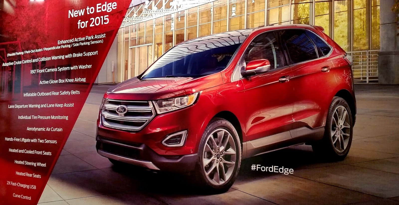 All New 2015 Ford Edge