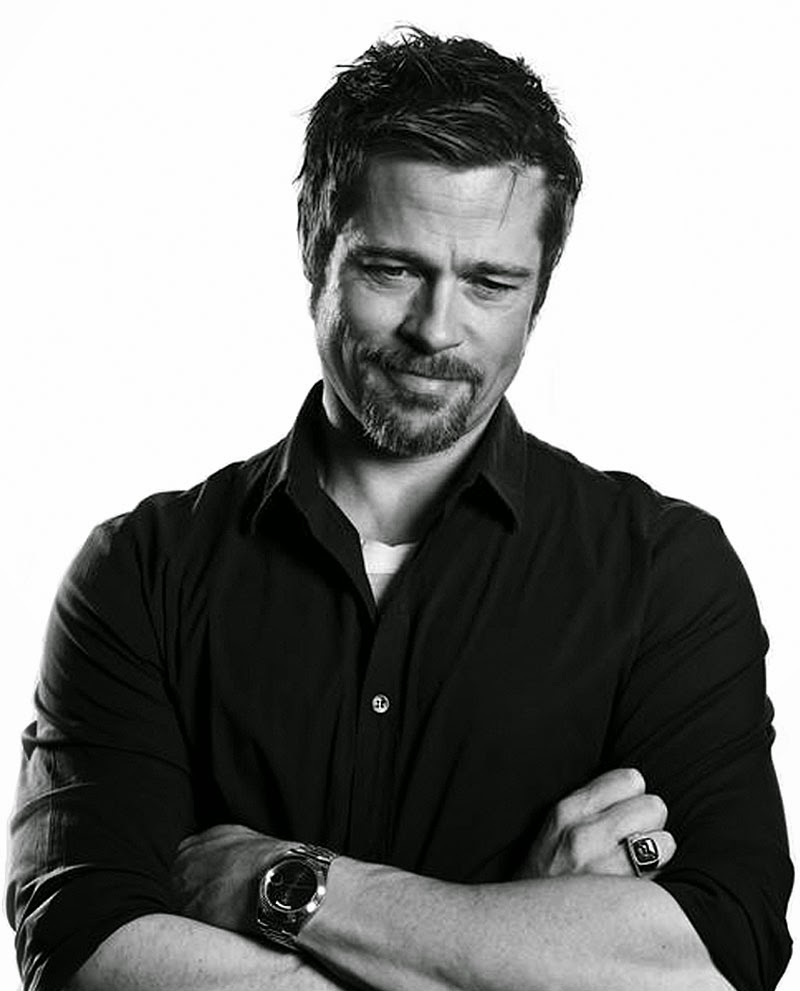 Swiss Design Watches Brad Pitt With His Gold Rolex Day Date II