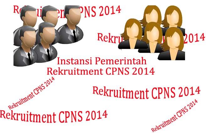 Website Online Resmi Informasi CPNS 2016 berdasarkan Instansi