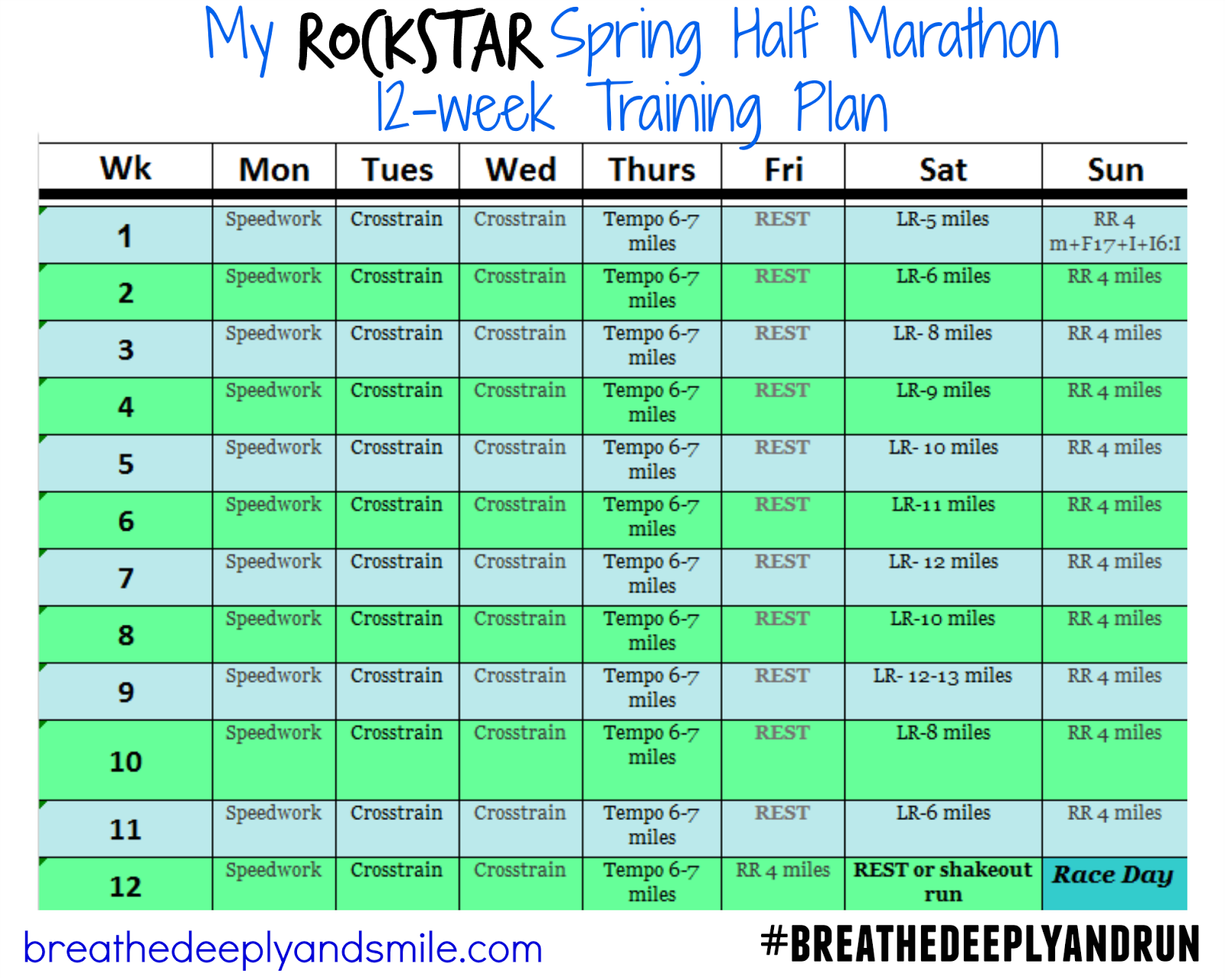 rockstar-spring-half-marathon-12-week-training-plan