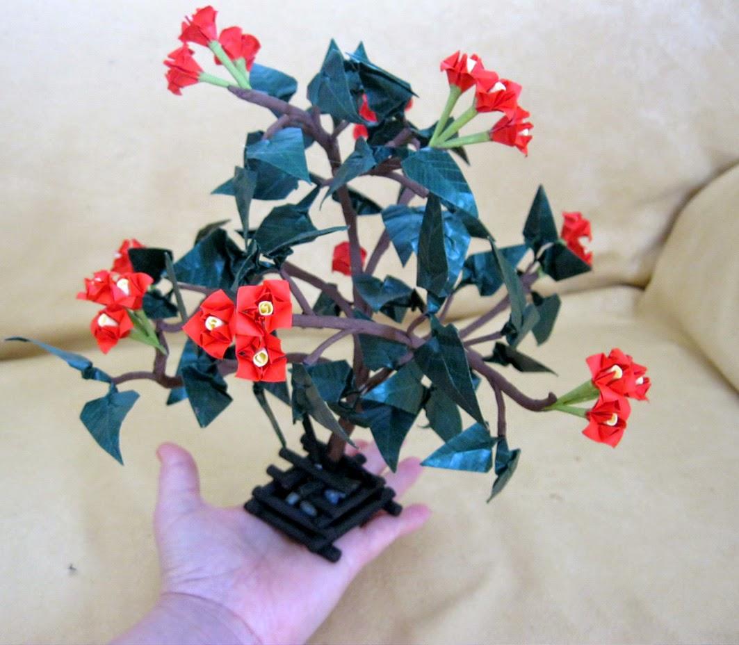 Origami Bonsai Origami Instructions Art And Craft Ideas