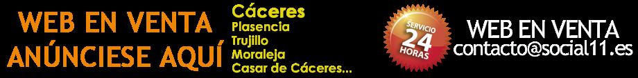 CERRAJEROS CÁCERES - WEB EN VENTA - ANÚNCIESE AQUÍ