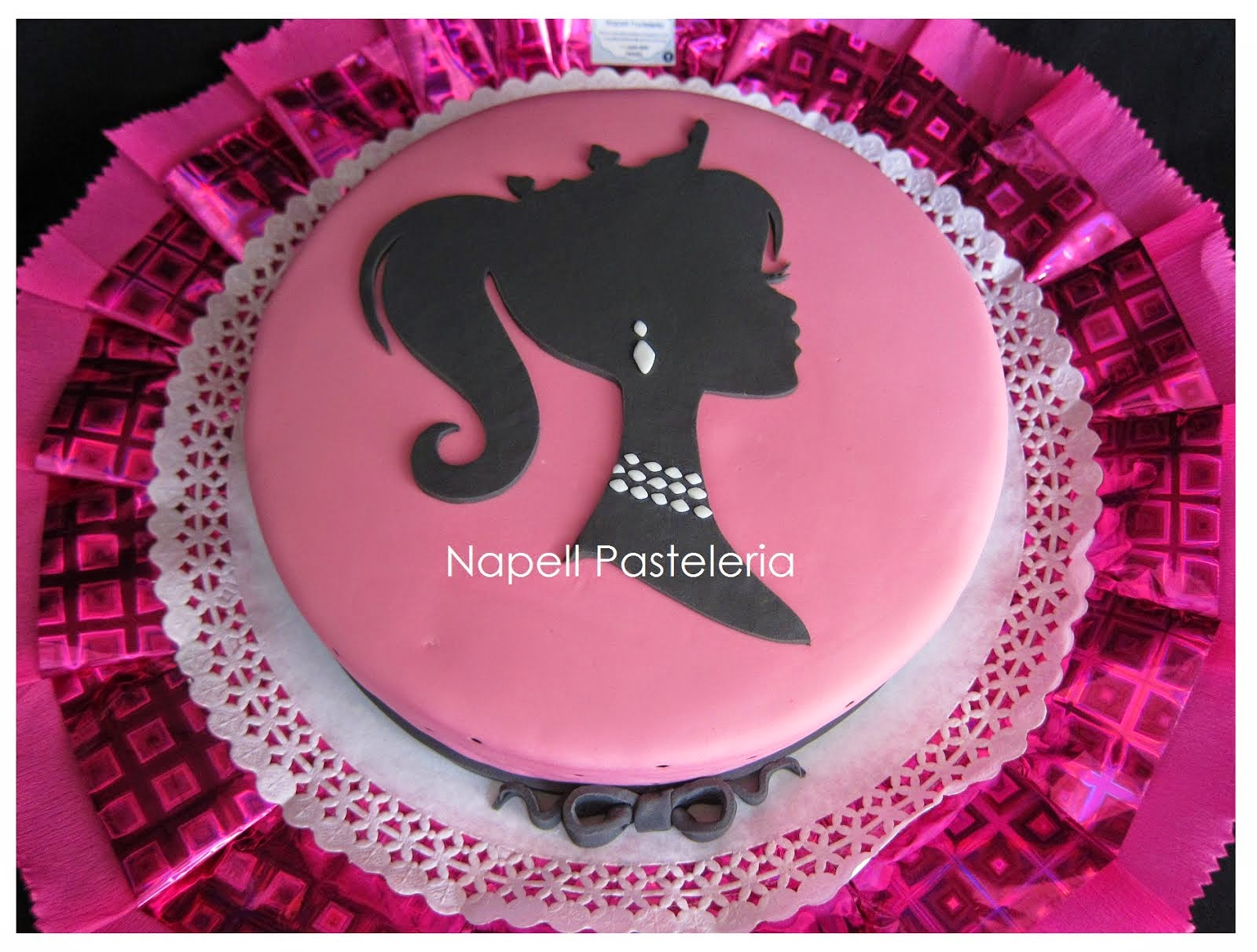 Torta Barbie en Paris
