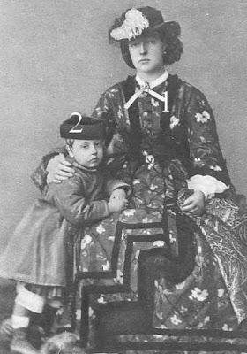 La duchesse de Brabant, née archiduchesse Marie Henriette d'Autriche, et le comte de Hainaut