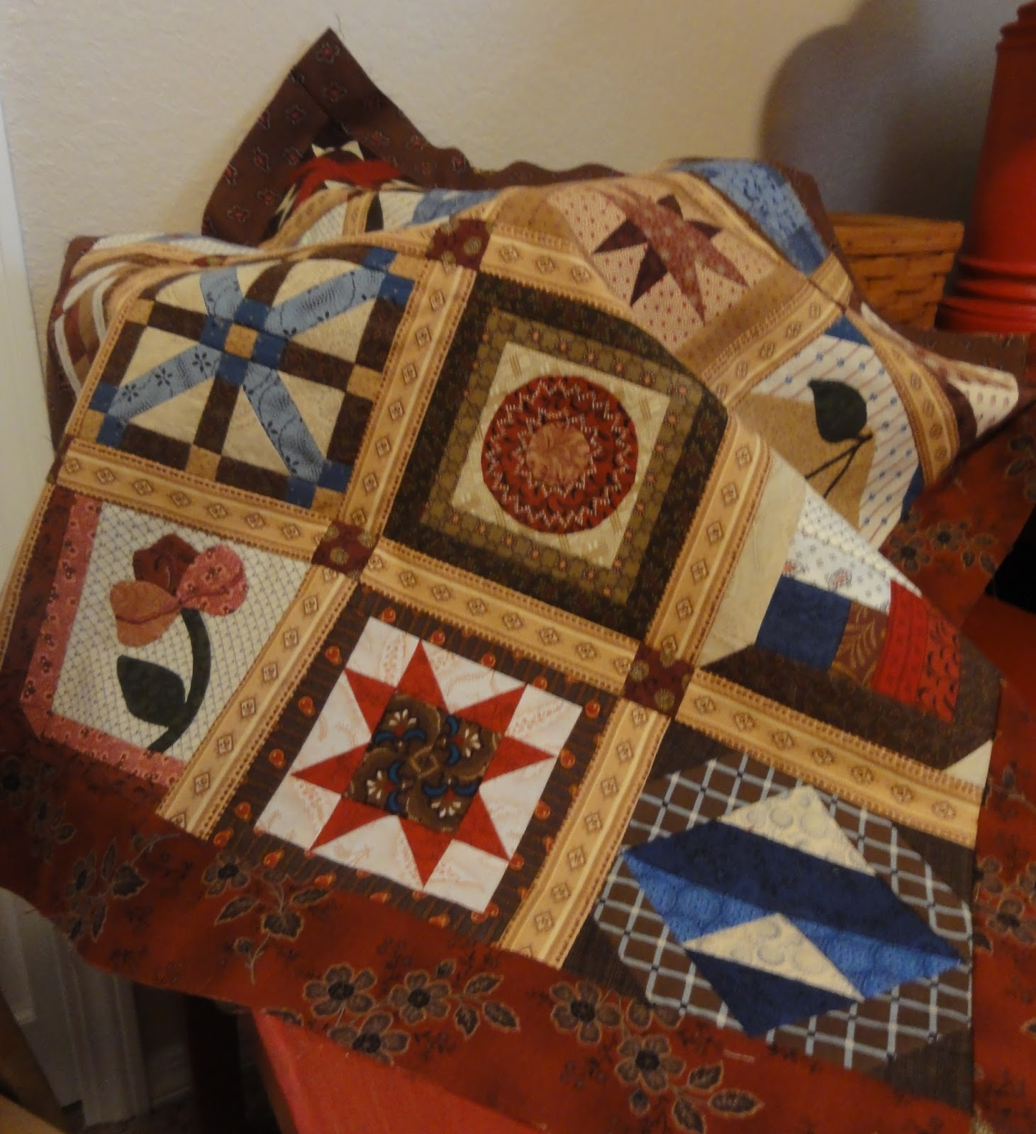 Q-BITS: \'NOT MUCH QUILTING TIME\' SEASON