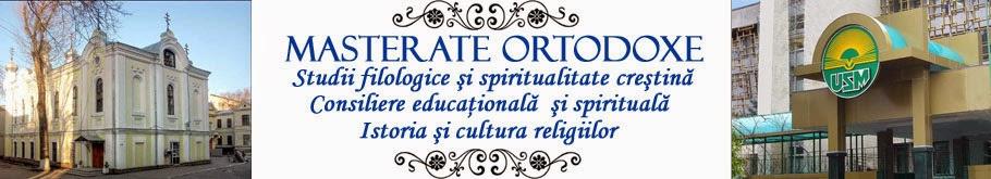 Masterate Ortodoxe